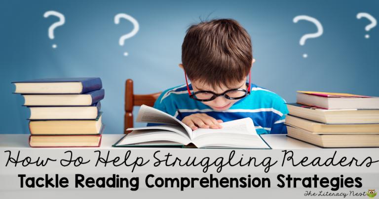 Effective Comprehension Strategies For Struggling Readers