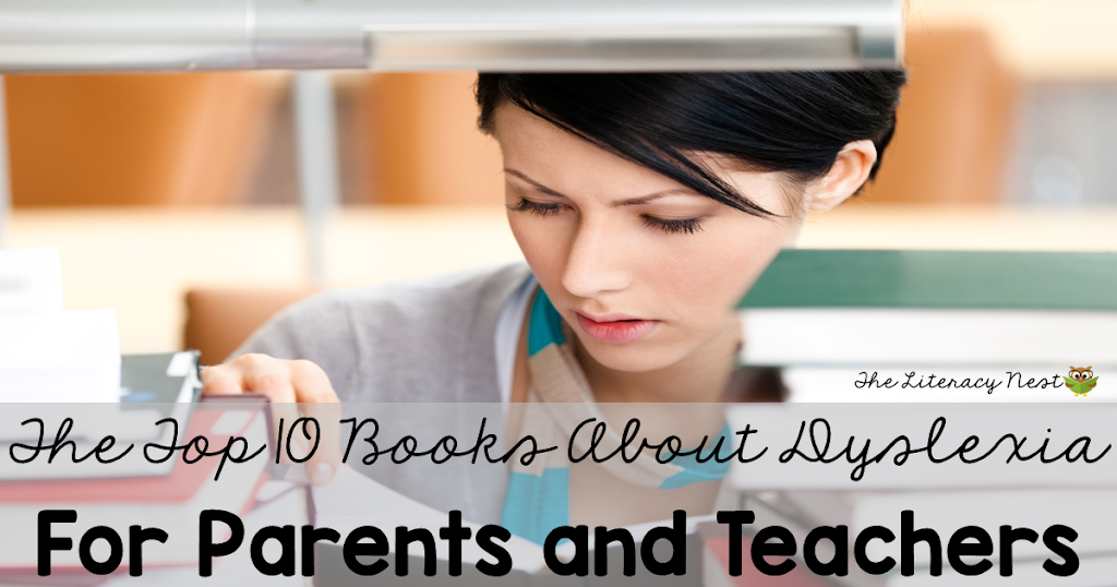 The Top Ten Books About Dyslexia for Parents and Teachers