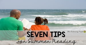 summer reading tips for struggling readers