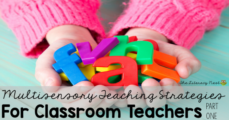 Multisensory Teaching Strategies in the Classroom: Part One