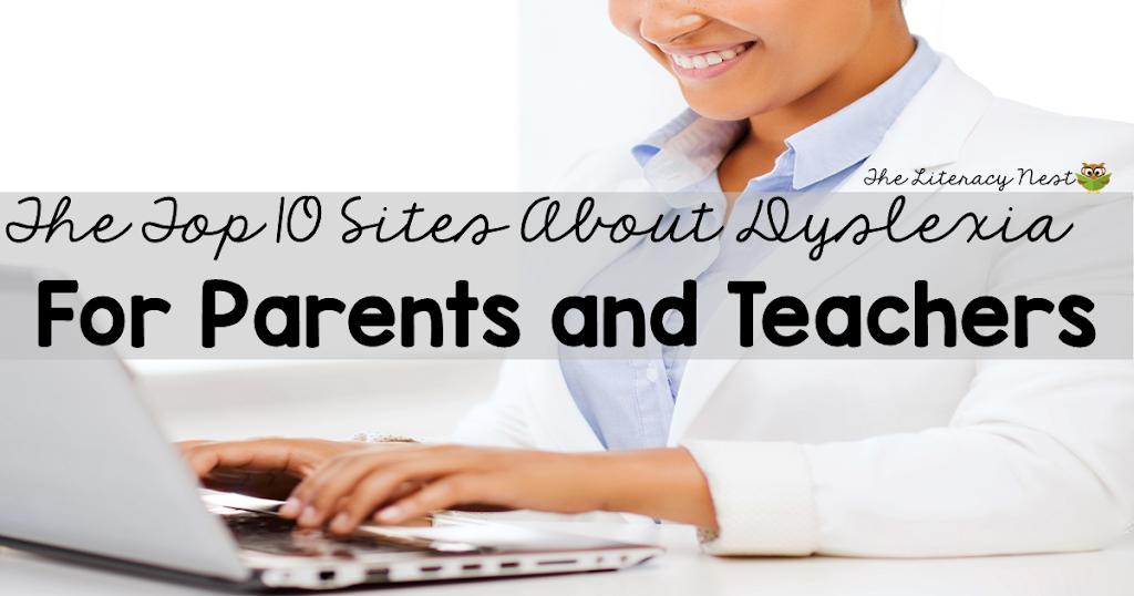 The Top Ten Websites for Dyslexia Awareness