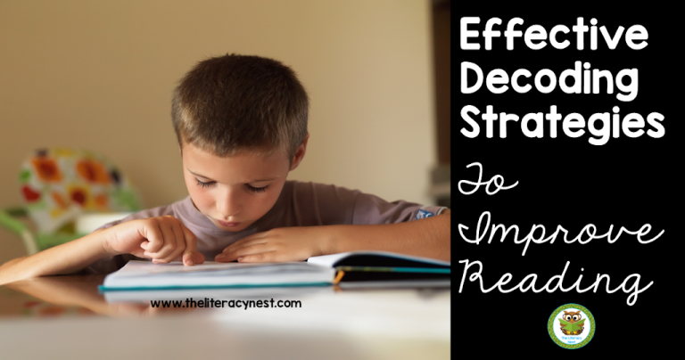 Effective Decoding Strategies To Improve Reading