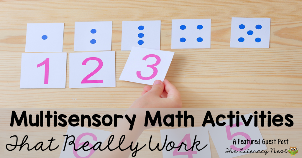 Multisensory Math Activities That Really Work