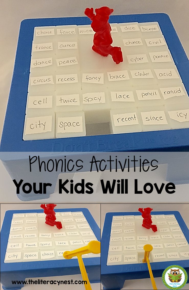 Phonics Games For The Orton-Gillingham Approach