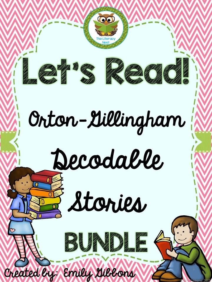 Orton-Gillingham reading passages