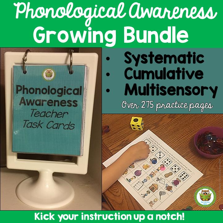 Phonological Awareness Curriculum