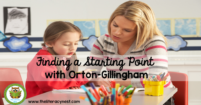 Starting Orton-Gillingham: How To Find A Starting Point With This Approach