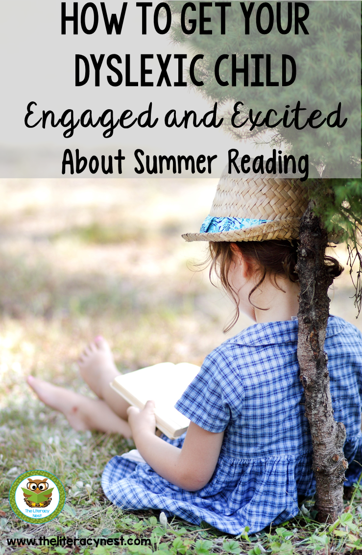Summer reading ideas for children with dyslexia
