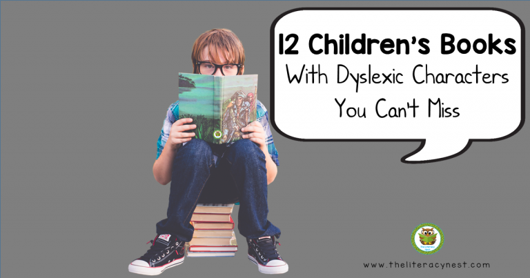 12 Children's Books With Dyslexic Characters You Can't Miss