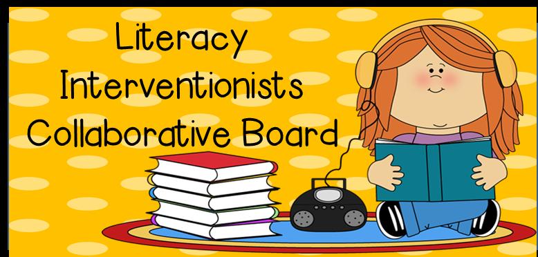 http://www.pinterest.com/readingtutorog/literacy-interventionists-collaborative-board/