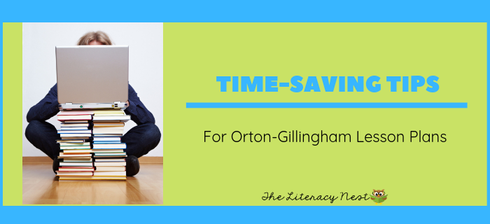 Orton-Gillingham Lesson Plans: Tips for Word Lists