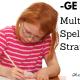 GE or DGE spelling strategies