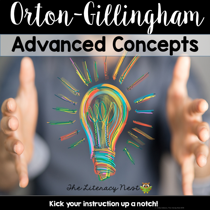orton-gillingham bundle