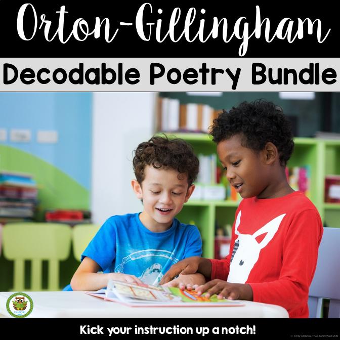 orton-gillingham poetry