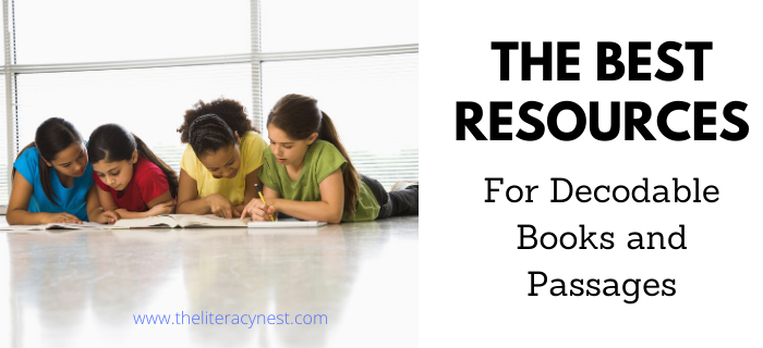 The Best Decodable Books and Decodable Passage Resources
