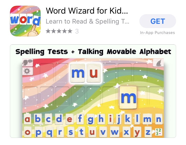 The Best Reading and Writing Apps word wizard app