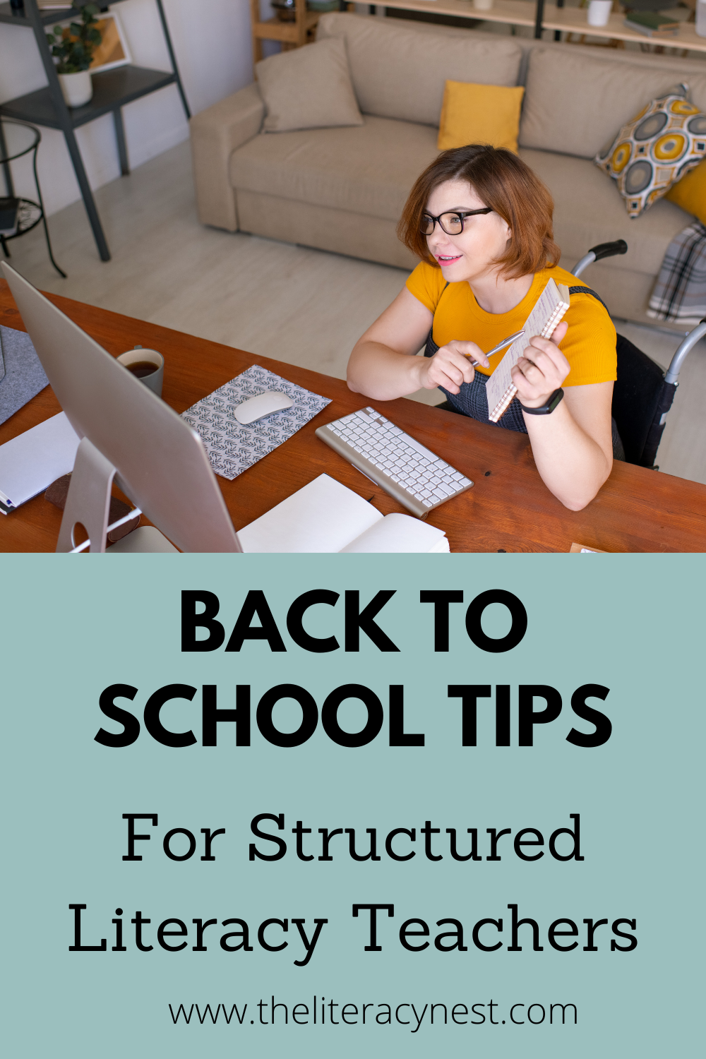 Back to School Tips for Structured Literacy Teachers 1