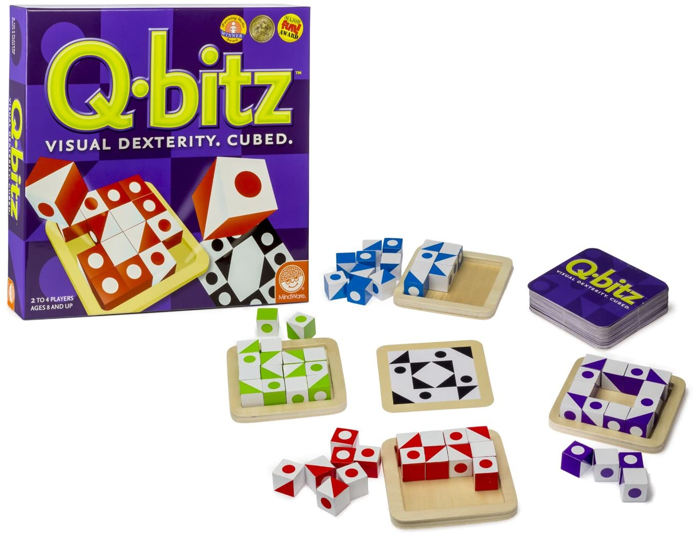 Qbitz holiday gift guide for learning games