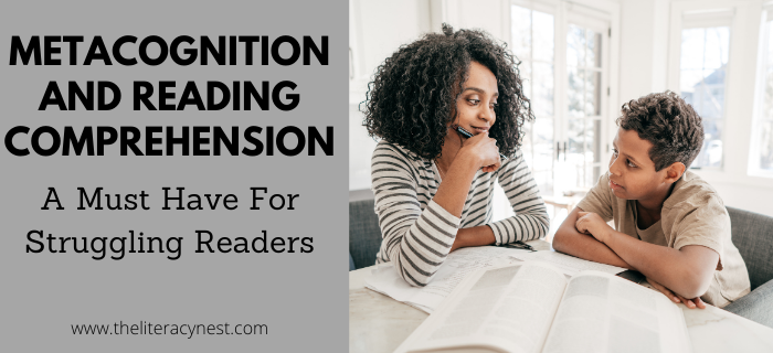 Metacognition and reading comprehension struggling readers