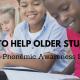 phonemic awareness for older students
