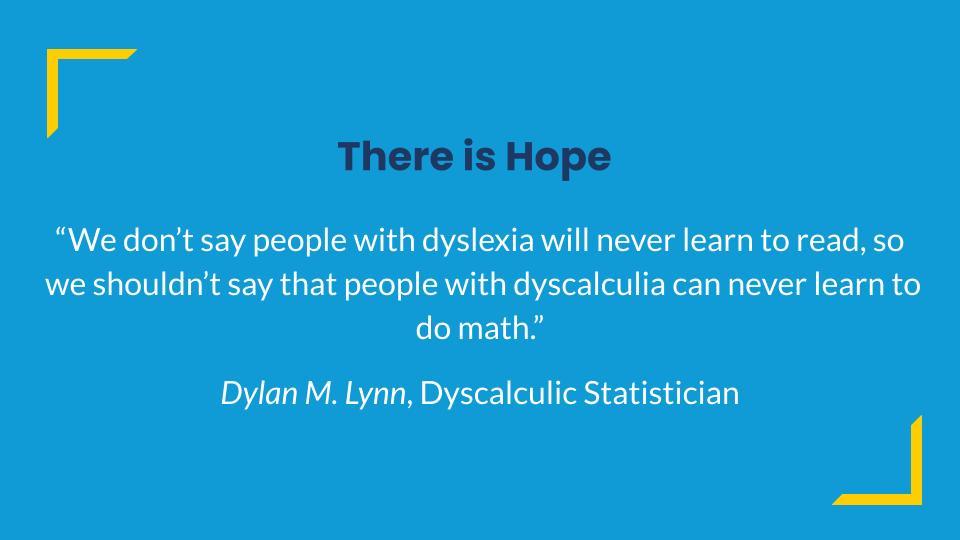 dyscalculia strategies