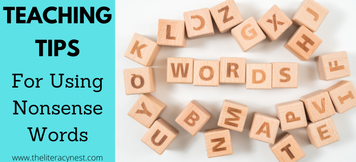 Tips for Teaching Nonsense Words