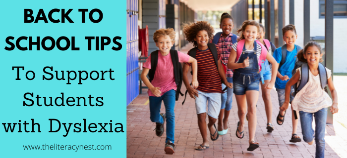 Back to School Tips to Support Students with Dyslexia